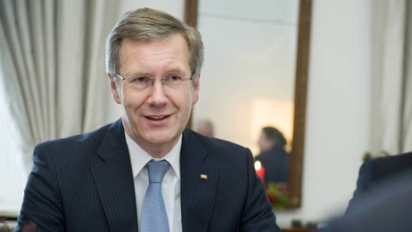 Bundespräsident Christian Wulff in Schloss Bellevue (Archivbild)