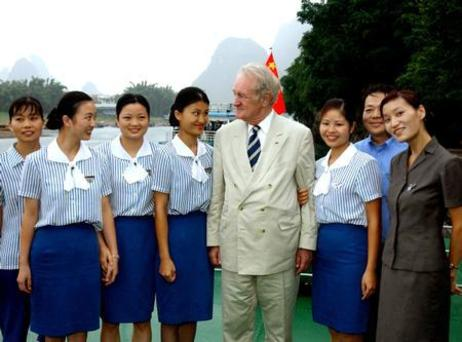 Bundespräsident Rau in China 2003