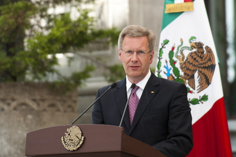 Bundespräsident Christian Wulff in Mexiko