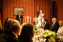 Federal President Frank-Walter Steinmeier holds a speech at the dinner hosted by Governor-General of Australia, Peter Cosgrove, at the Admirality House in Sydney on the occasion of his state visit to Australia