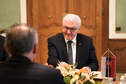 Federal President Frank-Walter Steinmeier holds a speech at the lunch hosted by the Slovak President, Andrej Kiska, in the Presidential Palace in Bratislava on the occasion of his state visit to the Slovak Republic