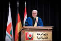 Federal President Frank-Walter Steinmeier holds a speech at the Lebanese University in Beirut on the occasion of his official visit to Lebanon
