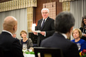 Federal President Frank-Walter Steinmeier held a speech at the dinner hosted by the Prime Minister of Japan, Shinzō Abe, in the official residence of the Prime Minister in Tokyo on the occasion of his visit to Japan