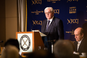 Federal President Frank-Walter Steinmeier held a speech at the Foreign Correspondents' Club of Japan in Tokyo on the occasion of his visit to Japan