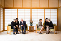Federal President Frank-Walter Steinmeier and Elke Büdenbender meet Emperor Akihito and Empress Michiko on the occasion of the visit to Japan