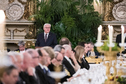 Federal President Frank-Walter Steinmeier holds a speech at the dinner hosted by President Marcelo Rebelo de Sousa in the Palácio Nacional de Ajuda in Lisbon on the occasion of the official visit to Portugal