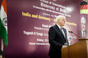 Federal President Frank-Walter Steinmeier held a speech at the University of Delhi on the occasion of his state visit to India