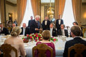 Federal President Frank-Walter Steinmeier holds a speech at a luncheon hosted by the King of the Netherlands in The Hague on the occasion of the official visit to the Kingdom of the Netherlands