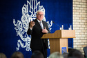 Federal President Frank-Walter Steinmeier holds a speech at the at the event 'Ukraine, Germany, Europe – Partnership and Prospects' at the Kyiv-Mohyla Academy in Kyiv on the occasion of his official visit to Ukraine