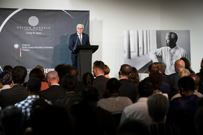 Federal President Frank-Walter Steinmeier held a speech at the Apartheid Museum in Johannesburg on the occasion of his state visit to the Republic of South Africa