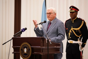 Federal President Frank-Walter Steinmeier held a speech at the state banquet hosted by President Mokgweetsi Masisi on the occasion of his state visit to the Republic of Botswana