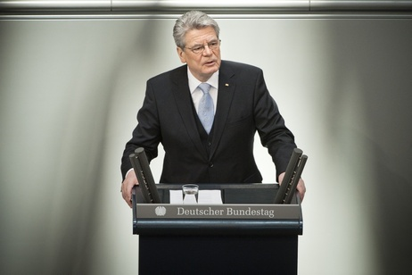 peech by Federal President Joachim Gauck following the swearing-in ceremony in the German Bundestag