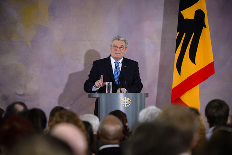 Speech by Federal President Joachim on prospects for the European idea