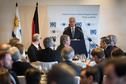 Federal President Joachim Gauck hold a Speech at a luncheon to mark the centenary of the German-Uruguayan Chamber of Industry and Commerce on the occasion of the state visit to the Eastern Republic of Uruguay