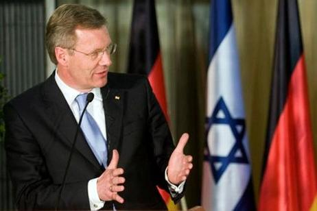 Bundespräsident Christian Wulff in Israel