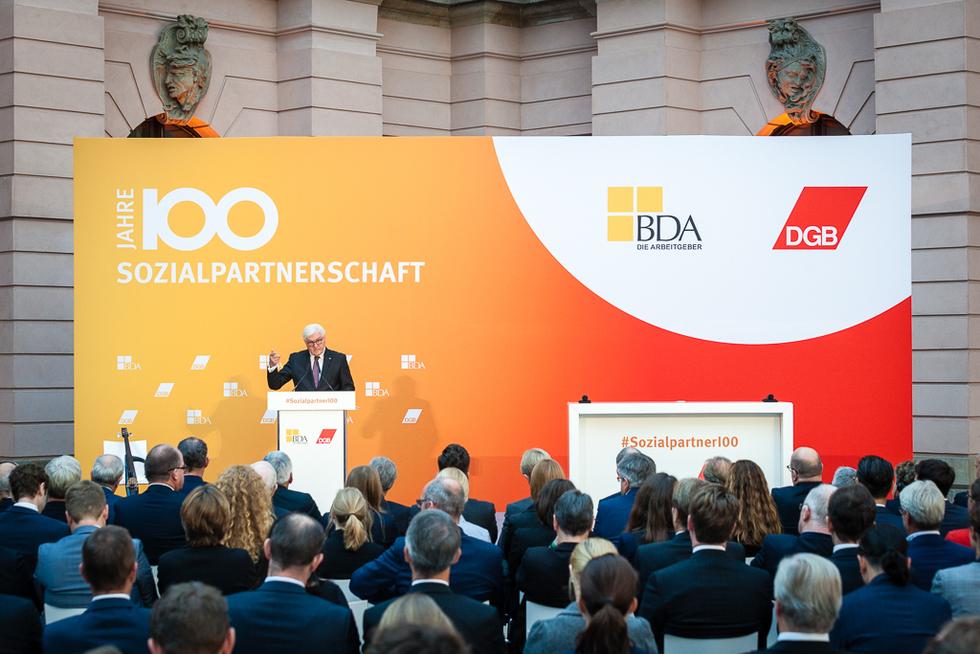 Wwwbundespraesidentde Der Bundespräsident Reden 100